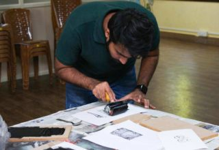 Wiztoonz | Block Printing with Wood Carving